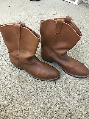 Red Wing Vintage Leather Boots Size 13