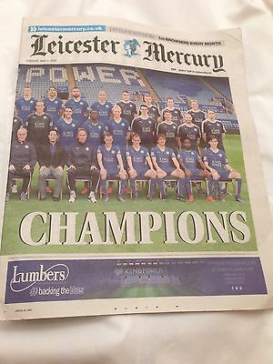 Newspaper - Leicester City, Leicester Mercury, 3rd May 2016.