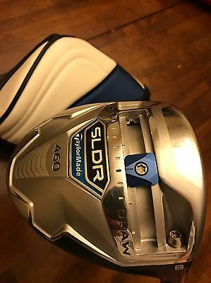 Tour Issue Taylormade Sldr 8 Degree Driver Head Only W/ Toe Screw And +