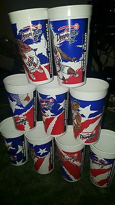 USA Basketball DREAM TEAM II 1994 McDonalds Coca-Cola 9 Cups lot
