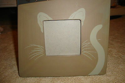 Picture frame cat theme
