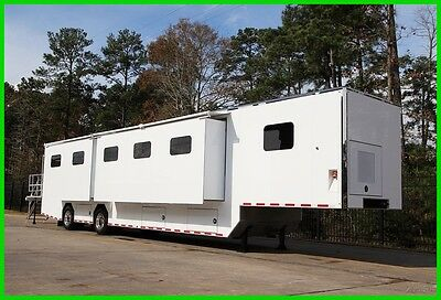 2017 COMMERCIAL GRADE MOBILE SHOW OFFICE TRAILER W/ TRIPLE SLIDE-OUTS New