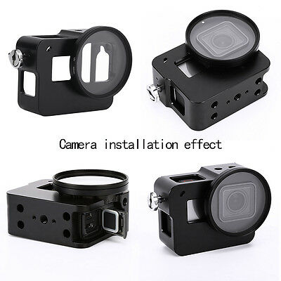 Kit Accessories of Waterproof Protective Cover Case for GoPro Hero 5 Black Cam Q