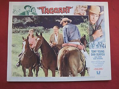 4 lobby cards -CATTLE KING 1964 TONY YOUNG - DAN DURYEA - DICK FORAN