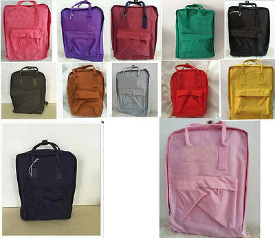 New Hot Sale Outdoor 3 size Canvas Backpack School Bag Tote bag Sport Daypack