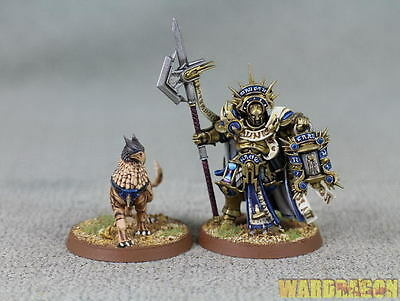 25mm Warhammer WDS painted Stormcast Eternals Lord-Castellant l38