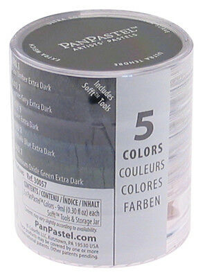 Panpastel 30057 Pp Ultra Soft Painting Pastels Extra Dark Shadow Set