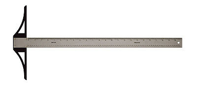 """Alvin Sst18 Sst Series 18"""" Stainless Steel Professional Graduated T-Square"""