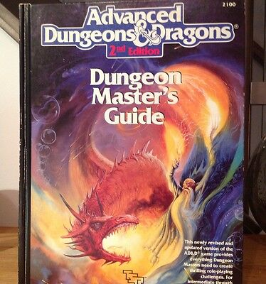 Dungeons and Dragons: AD&D 2nd Edition 2100 TSR Dungeon's Master Guide