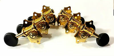 For Slotted Headstock Acoustic guitar Gold plated Tuning peg- 326GS1-SB