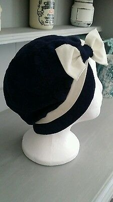 Vintage 20s Style Cloche Hat
