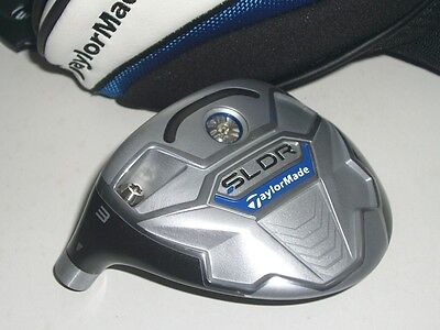 TaylorMade SLDR 3W 15* LH Head Only / Head Cover / Japan Model