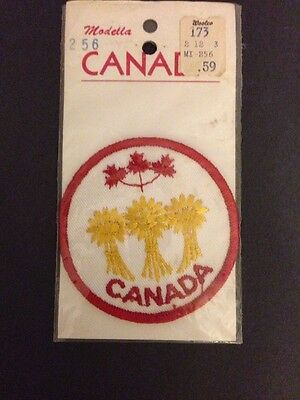 Vintage 1970's Canada Wheat Patch