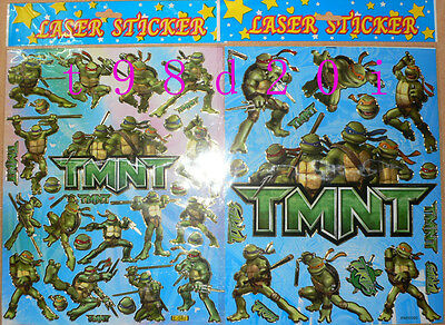 5 Sheets TMNT Stickers Super Sale! A4 Format