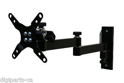 "Articulating Arm Mount Bracket for LCD LED Flat Screen Monitor TVs 12""-24"""