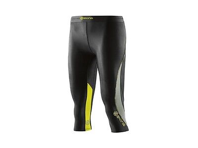 DNAmic Women      s 3/4 tights in BK/LIMO
