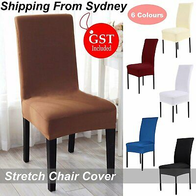 2/4/6/8/10X Stretch Chair Cover Covers Seat Spandex Washable Banquet Wedding Dec