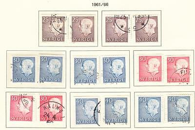 SWEDEN : 1961-9  10 MNH, 42 Used   ( 4 Scans)