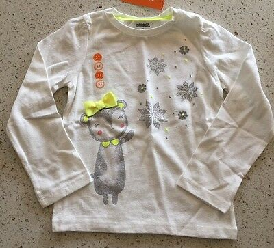 Gymboree Girls Winter Themed Long Sleeve Shirt Size 3T NWT