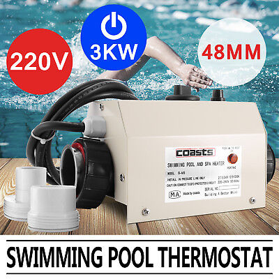 3KW WATER HEATER THERMOSTAT for SWIMMING POOL & SPA HEATER & BATH/BATHTUBE