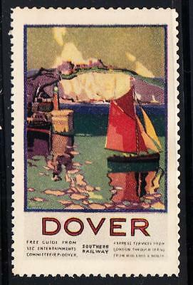 SOUTHERN RAILWAY POSTER STAMP : Dover