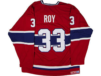 Montreal Canadiens Patrick Roy CCM NHL CN Heroes Hockey Jersey XL - NEW