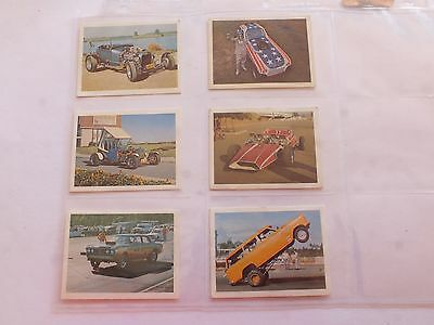 Weet-Bix Hottest Hot Rods On The Racetrack X 6 Cards