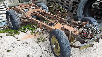 Willys jeep cj2a classic car military vehicle barn find