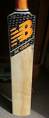SH English Willow Cricket bat with New Balance stickers