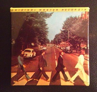 """Vintage Collectible Beatles Pin. Abbey Road Album Cover 2 1/2"""" x 2 1/2"""""""