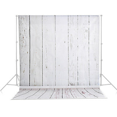 AU Backdrops Wooden Floor Vinyl 3x5ft Camera Studio Photography Background