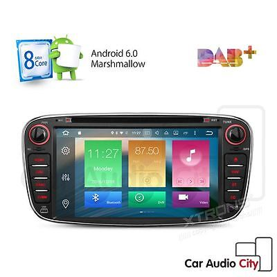8-Core Android 6.0 Car Cd/dvd Player Gps Stereo Ford Focus Mondeo S-Max Galaxy