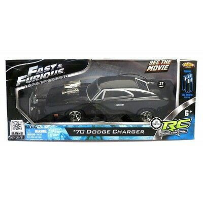 Fast & Furious RC Car 1/24 1970 Dodge Charger