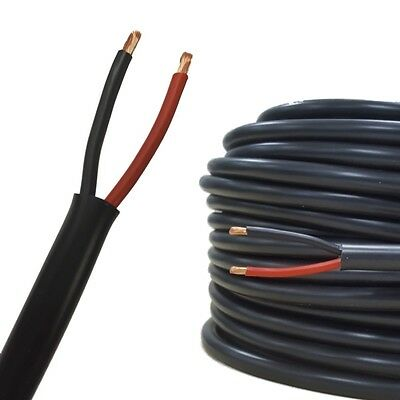 AUPROTEC 5m-50m automotive 2 x 2.5 mm² Twin Core electrical auto Round Cable