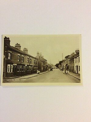 London Road Oadby Leicestershire Postcard