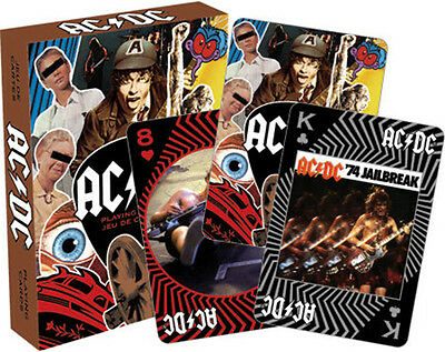 Preordine - Ac/dc Playing Cards - Carte Da Poker Rock - Aquarius Ent