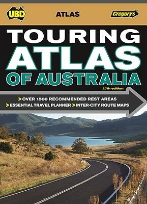 UBD Gregory's Touring Atlas of Australia *FREE SHIPPING - IN STOCK - NEW*