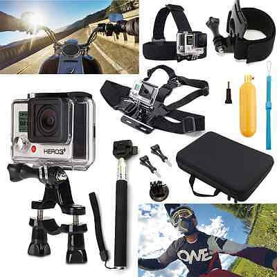 12 in 1 Accessories Set Kit for GoPro Camera HD Hero 5 4 3+ 3 2 1 Outdoor Sports