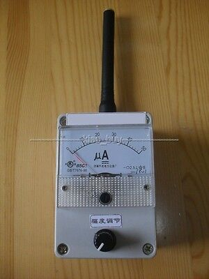 100K-1000MHz Field Strength Indicator Meter RF Signal Level Meter + antenna
