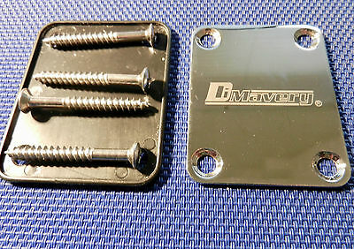 DiMavery  NECK PLATE  mit Unterplatte  Bass