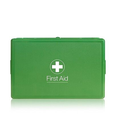 PCV Vehicle First Aid Kit in Box - Blue Dot Branded - Motorist Car Minibus Coach