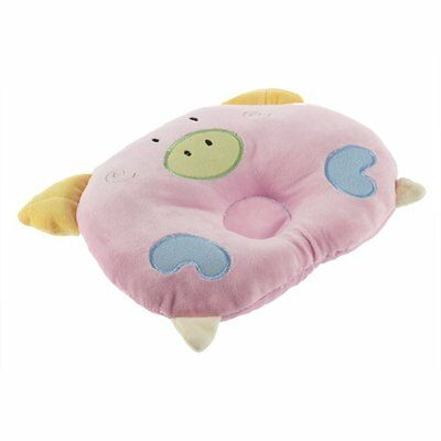 H1 Pig Shaped Baby Infant Toddler Sleeping Support Pillow Prevent Flat Head P8V8