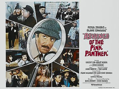 """Revenge of the Pink Panther 16"""" x 12"""" Reproduction Movie Poster Photograph"""