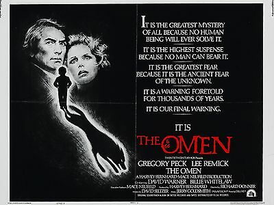 """The Omen 16"""" x 12"""" Reproduction Movie Poster Photograph"""