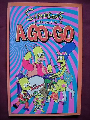 Simpsons Comics A Go-Go TPB Collects 32-35 +10 Titan Books 2000 First Edition VF