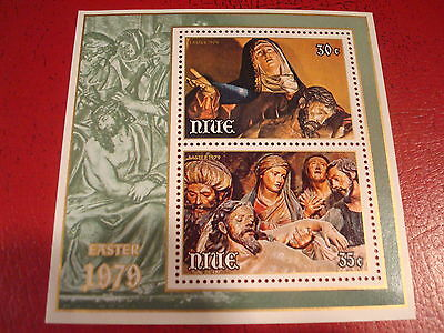 Niue - 1979 Easter - Minisheet - Unmounted Mint - Ex. Condition