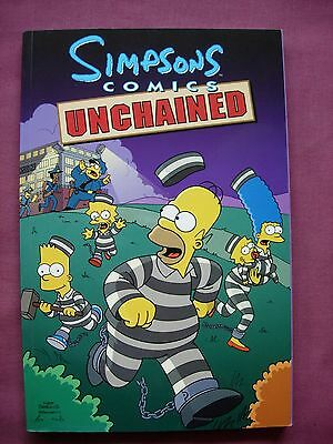 Simpsons Comics Unchained TPB Collects 36-42 Titan Books 2002 First Edition VFN