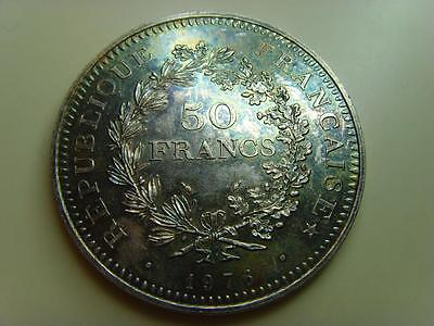 1976 France Silver 50 Francs French Coin