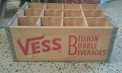 1966 Vess soda crate amazing condition well preserved
