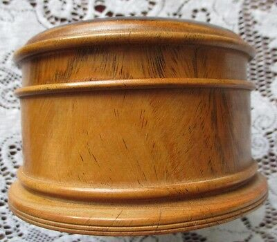 Collectable Set of Wooden Coasters in Lovely turned container